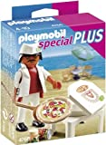 Playmobil Especiales Plus - Pizzero -  Nave de Ataque Mega Masters, Set de Juego , Multicolor, 35 x 10 x 25 cm, (4766)