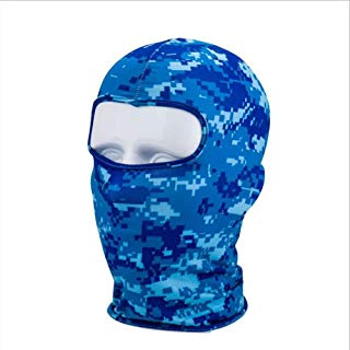 HuldaqueenMX Camuflaje de Invierno Polar Caliente para Toda la Cara Cubierta Anti-Polvo a Prueba de Viento máscara de esquí Snowboard Capucha Anti-Polvo de Bicicletas Pasamontañas Bufanda