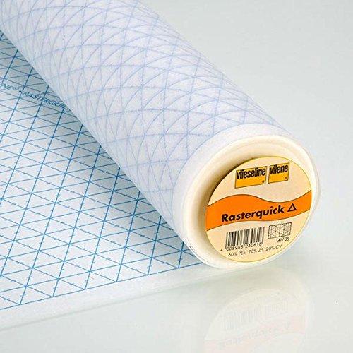 Fabulous Fabrics Vlieseinlage weiß, 90cm breit – zum Einnähen auf Jacken, Kleider oder Oberteile - Meterware erhältlich ab 0,5 m