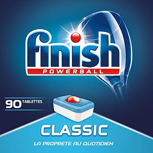 Finish Pastilles Lave-Vaisselle Powerball Classic - 90 Tablettes Lave-Vaisselle