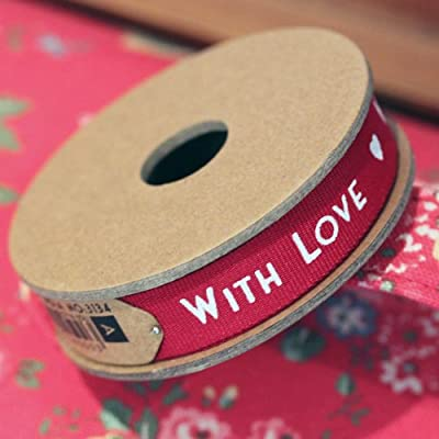 East of India 'With Love' Ribbon 3m