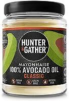 Hunter & Gather Avocado-olie Mayonaise - 250g   Gemaakt met Zuiver Avocado-olie en Britse scharreleieren eidooiers  ...