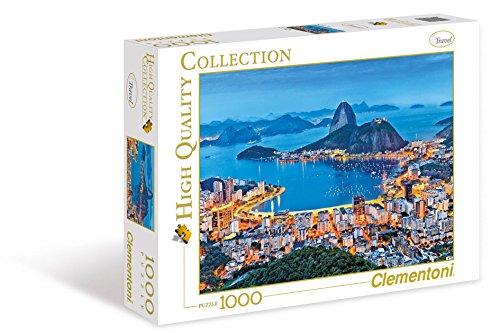 Clementoni 39258 - Puzzle Rio De Janeiro, 1000 pz.