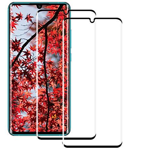 BOBI 2 Pezzi Pellicola Vetro Temperato per Xiaomi Mi Note 10, 9H Durezza Pellicola Protettiva Copertura Completa, HD Protezione Schermo Senza Bolle