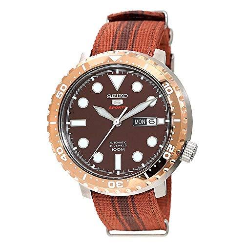 Seiko SRPC68K1 - Reloj deportivo de nailon con tapa de botel