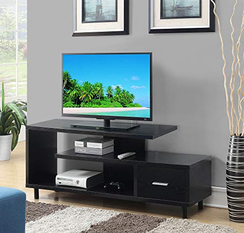 """Convenience Concepts Seal II 60"""" TV Stand, Black"""