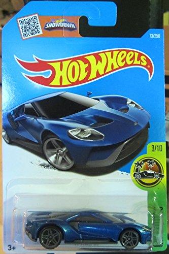 Hot Wheels 2016HW Exotics '17Ford GT 73/250, Blue