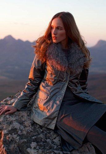 Bogner Sonia Bogner Fraya-DB Winterjacke mit Pelz Tibetlamm