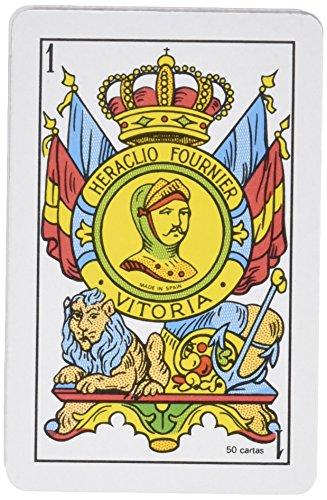 Fournier - Baraja Española, 50 Cartas, Multicolor (F20996)