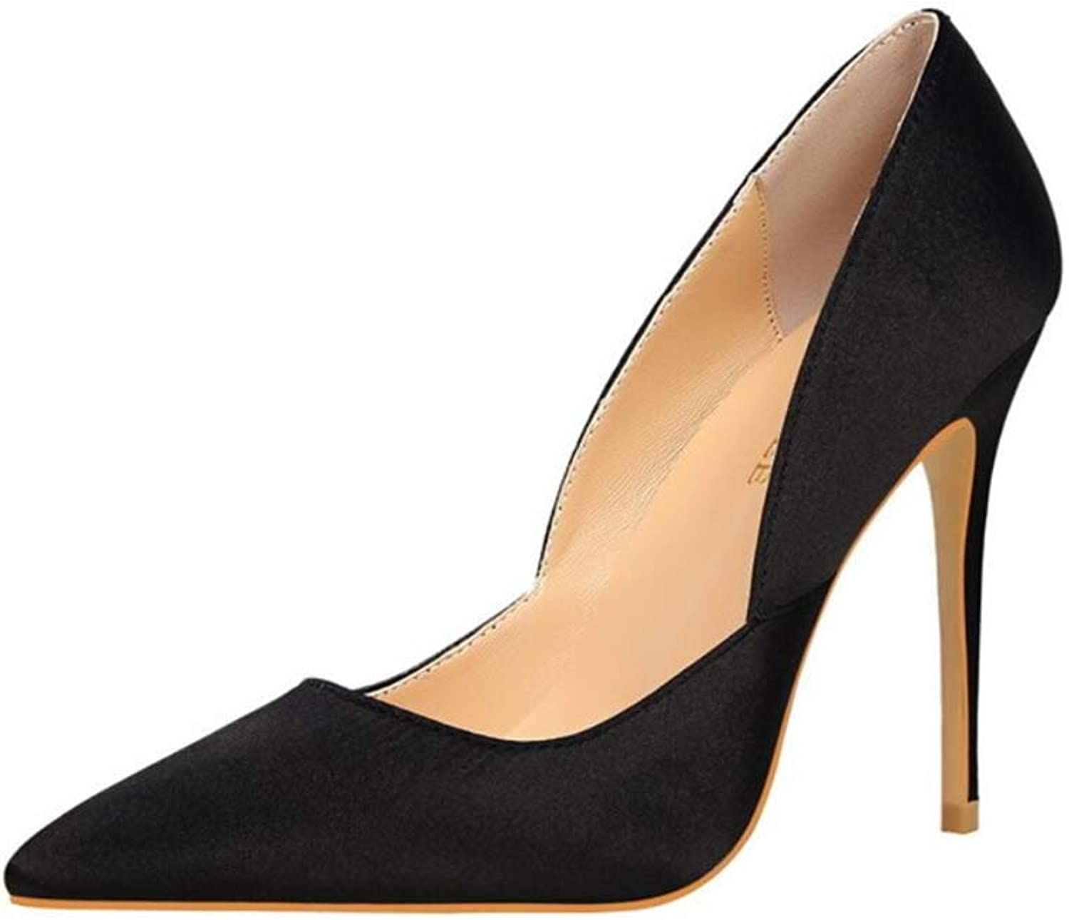CHENSF Women's high Heels Sexy Pointed Fashion Comfortable high Heel Work shoes