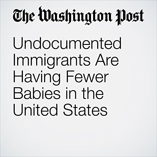 Undocumented Immigrants Are Having Fewer Babies in the United States cover art