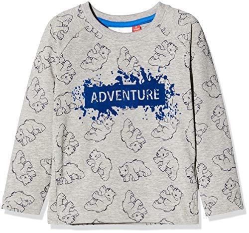 LEGO Duplo LWTERRENCE T-Shirt Manches Longues, Gris (Gris Mélange 921), 104 Bébé garçon