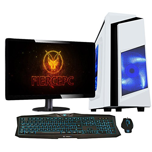 Fierce Bandit Gaming PC - 4,2GHz Ocho Core AMD FX8300, NVIDIA GTX 1050 2GB GDDR5, 16GB Memoria, 1TB Disco Duro - Perfecto para juegos nuevos, DirectX 12 - 322147
