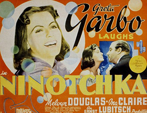 ODSAN Ninotchka, Greta Garbo & Melvyn Douglas, Ina Claire, 1939 - Foto-Reimpresión película Posters 36x28 pulgadas - sin marco