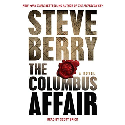 The Columbus Affair audiobook cover art