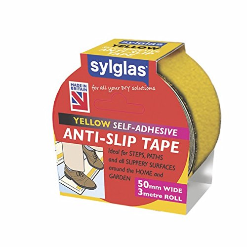Sylglas Anti-slip Tape Yellow 50mm x 3m
