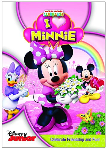 DISNEY MICKEY MOUSE CLUBHOUSE: I HEART MINNIE (HOME VIDEO RELEASE)