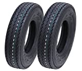 Parnells 4.80/4.00-8 6ply Neumático de Remolque Wanda 340kg Neumático 400x8 - Conjunto de 2