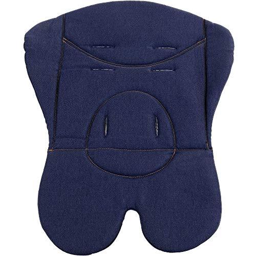 FJESSA Auflage Sitzauflage Einlage Buggy Sitzeinlage, Sitzbuggy, (dunkelblau)