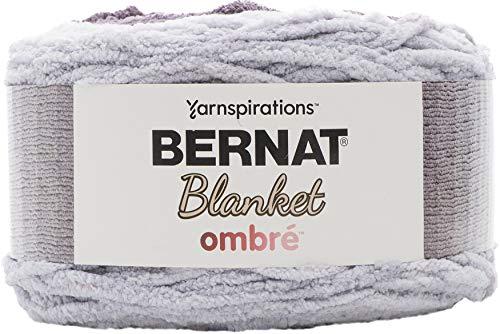 Bernat Blanket yarn, Charcoal Ombre