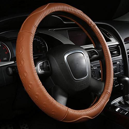 XLTWKK Auto-Lenkräder abdecken Lederaccessoires für Audi 100 200 4000 5000 80 90 A4 A6 A8