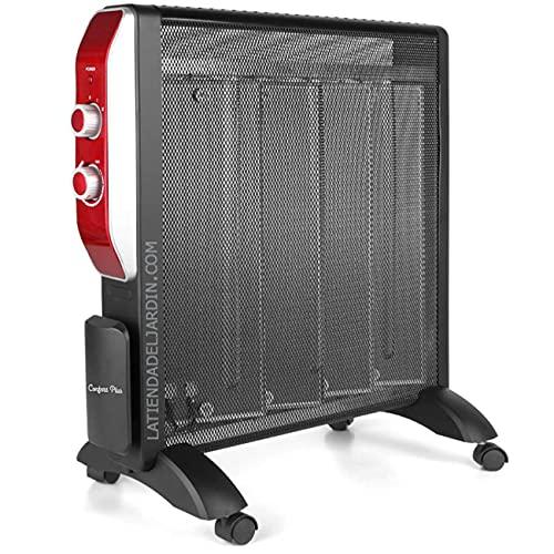 Suinga Radiador de MICA. 2 potencias de calor: 1000W-2000W. Elemento calefactor MICA. Rápida convección y difusión del calor.