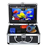 Eyoyo Portable 7 inch LCD Monitor Fish Finder Waterproof Underwater 1000TVL Fishing Camera 15m Cable...
