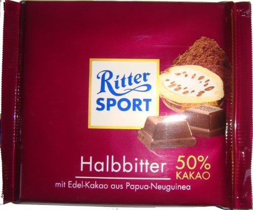 Ritter Sport Halbbitter, 100 g