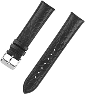 18/20/22mm Alligator Interchangeable Bar Genuine Leather Watch Strap Classical Wristband for Men and Women