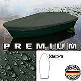 Bâche Persenning- De qualité supérieure -Pour bateaux ANKA, barque, canot pneumatique, bateau de pêche - Extrêmement résistante aux déchirures, vert olive, 400 cm x 150 cm