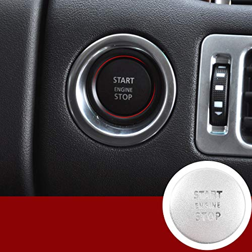 For Land Rover Range Rover Vogue 2010-2012 Engine Start Push Button Switch Sticker Cover Car...