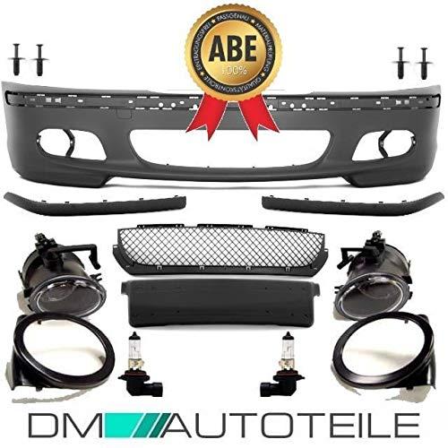 DM Autoteile STOßSTANGE Limousine Touring +Nebel Set für M SPORT+MONTAGEKIT passt für E46
