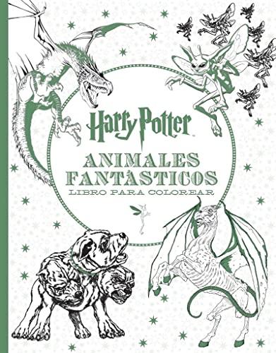 Harry Potter. Animales fantásticos. Libro para colorear (HARRY POTTER LIBROS PARA COLOREAR)