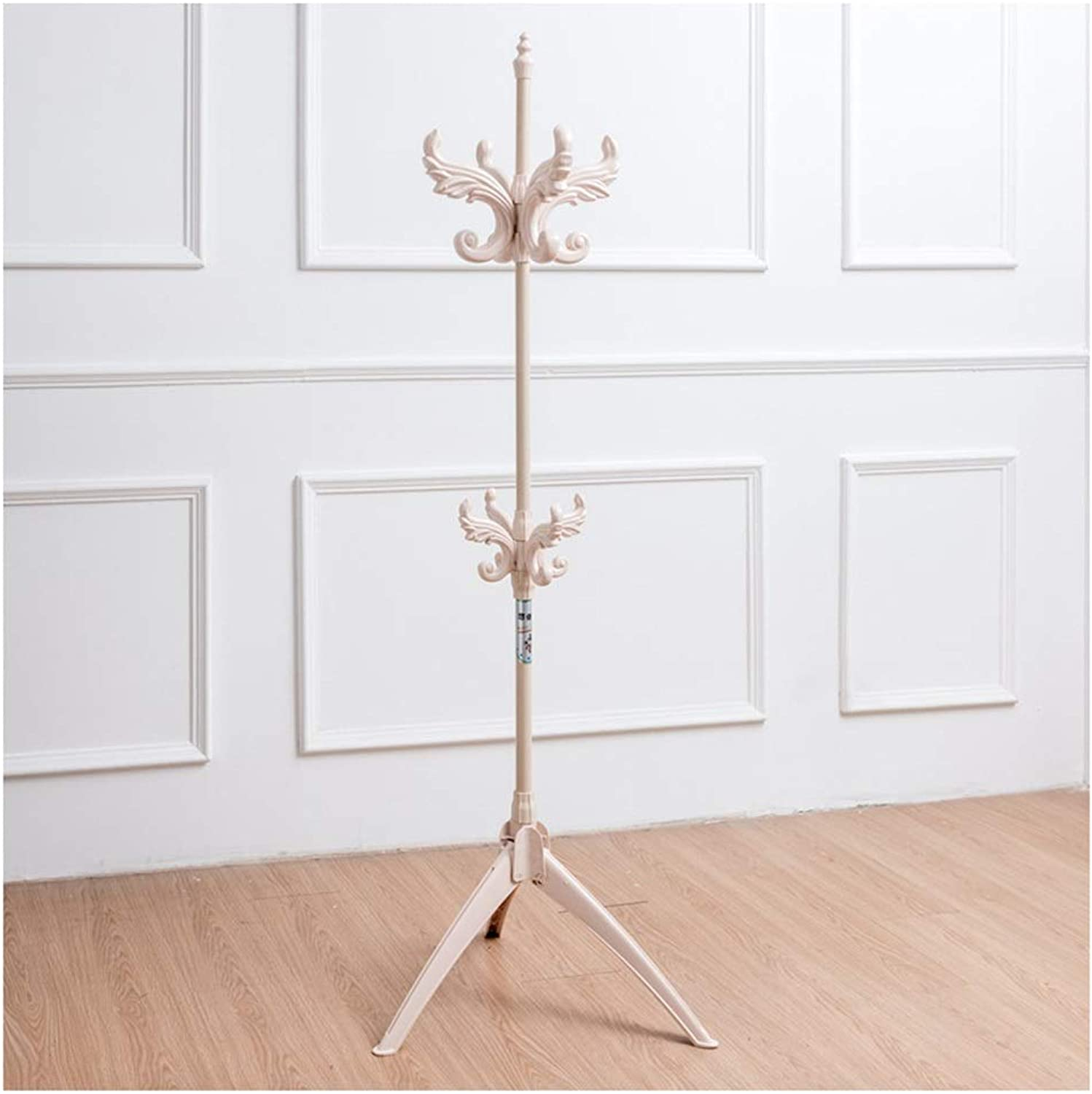 XIAOLONG Standing Coat Rack High 185CM Plastic Adjustable Hall Trees Entryway Coat Stand Clothes Rack Bedroom Living Room Clothes Hat Scarf Umbrella Stand Multifunctional Storage Rack -45