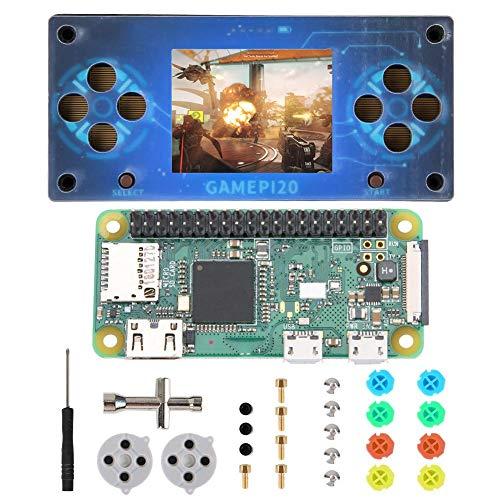 2 Zoll IPS Display Spielekonsole, Spielekonsole mit 320 X 240 Auflösung und Motherboard, Spielekonsole für Raspberry Pi Zero / Zero W / Zero WH