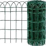 CF da 1PZ Rete per recinzione ORNAMENTALE Plastificata   Altezza H 90 cm   Maglia intrecciata 90x150 mm   Filo Ø 2,8 mm   Lughezza Rotolo da 25 mt Verde CARTOMATICA