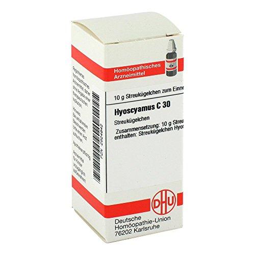 HYOSCYAMUS C 30 Globuli 10 g