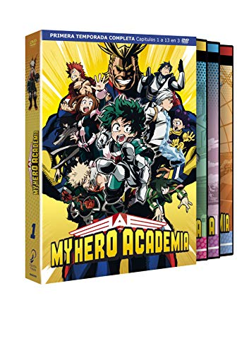 MY HERO ACADEMIA Temporada 1. Episodios 1 a 13. [DVD]