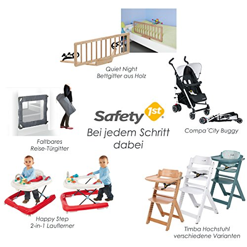 Safety 1st Secure Tech Auto Close Metal Gate, White