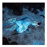 Queue De Sirène Mermaid Maillot De Bain Mermaid Bikini Définit pour Adultes/Enfants/Hommes/Femmes/Piscine/Fête/Extérieur/Photo(Color:Multicolore 4)