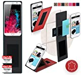 Cover for UMi Touch Case | in Red Leather | Multifunctional