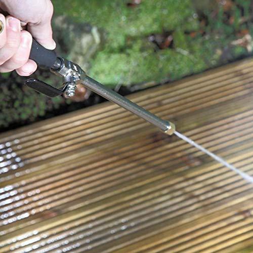 AETOSES Idropulitrice 2 in 1 30 idropulitrice Bacchetta ad Alta Pressione e ugelli Regolabili per la Pulizia della casa e del Giardino