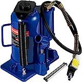Mophorn Gato de Botella 20 T Gato Hidráulico de Coche Azul Gato Hidraulico Carretilla para Reparación de Camiones Autos