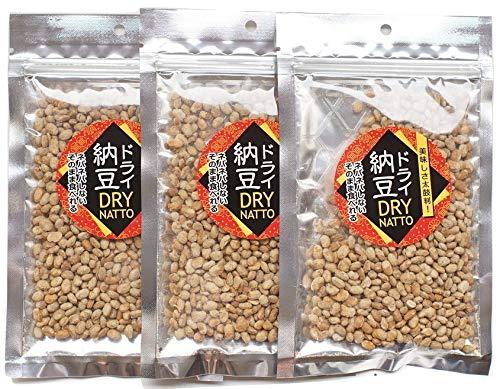 ドライ納豆 50g × 3袋 美味しさ太鼓判! ネバネバしない そのまま食べれる