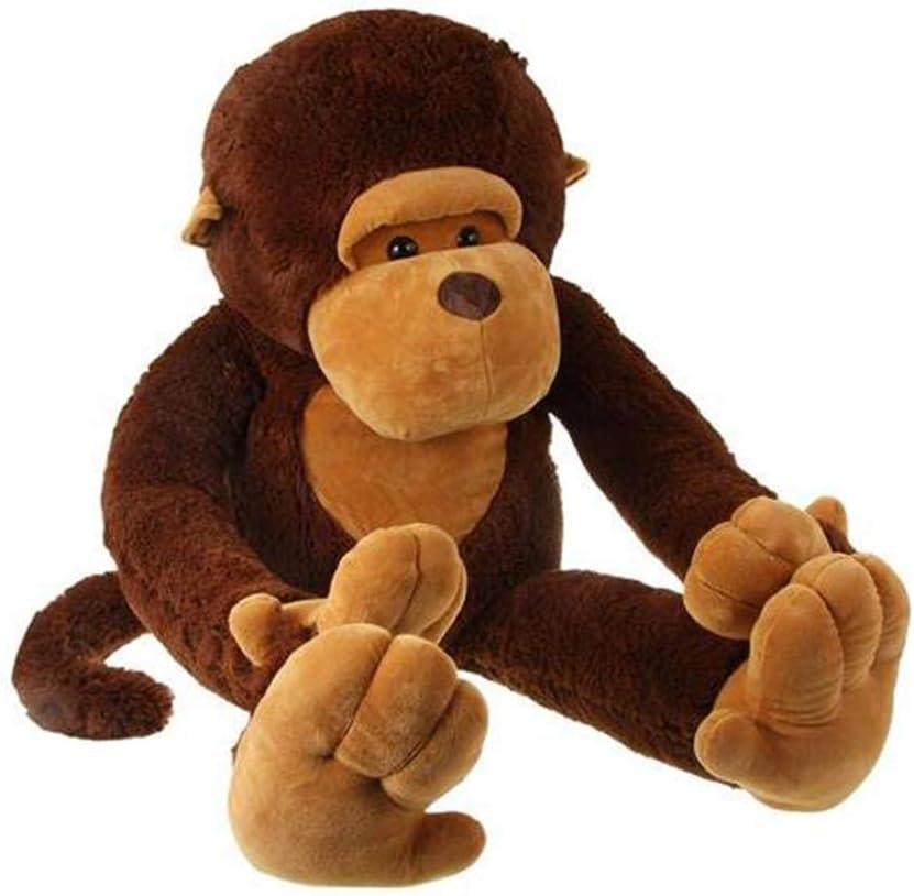 Yunnasi Monkey Stuffed Lowest price challenge Animal Regular dealer Large Giant Toy Plush Cuddly Soft