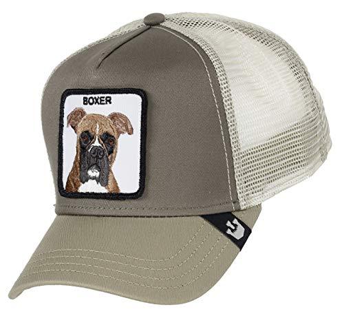 Goorin Bros. Trucker Cap Boxer/Hund Brown - One-Size