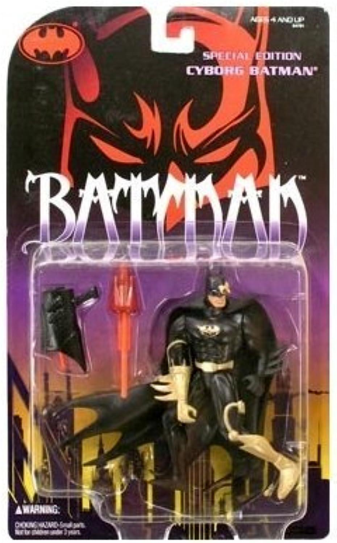 Batman  Legends of Batman WB Edition Series 1 Cyborg Batman Action Figure by Legends of Batman