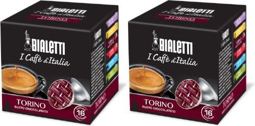 Bialetti Torino Espresso Capsules, 32 Count