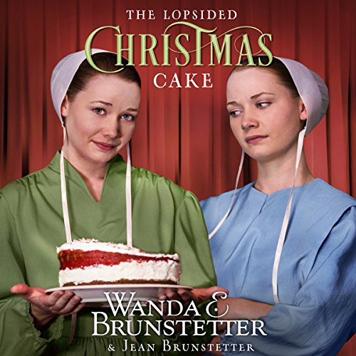 The Lopsided Christmas Cake audiobook cover art