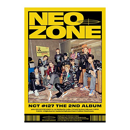 2nd Album Nct #127 Neo Zone [N Ver.]
